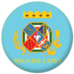 Lazio Flag 58mm Button Badge
